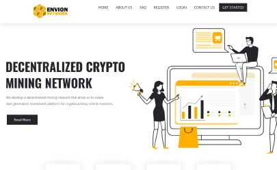 HYIP screenshot  Envion Network