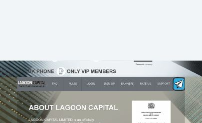 Скриншот HYIP LAGOON CAPITAL LIMITED
