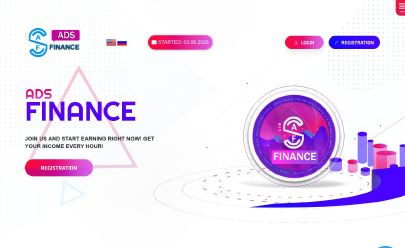 HYIP screenshot  Ads-Finance Ltd