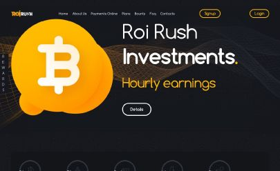 Screenshot HYIP Roi Rush