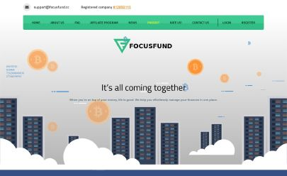 HYIP-Screenshot FocusFund