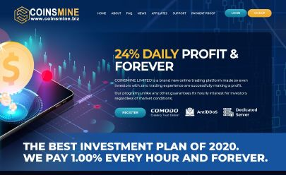 HYIP-Screenshot Coinsmine