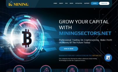 Скриншот HYIP MINING SECTORS LTD