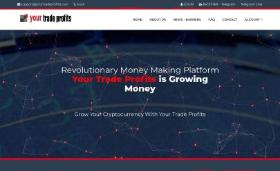 HYIP screenshot  YOURTRADEPROFITS.COM