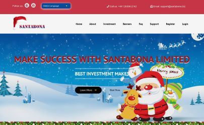 HYIP screenshot  SantaBona Limited