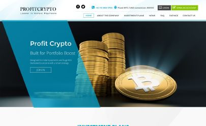 Screenshot HYIP profit crypto