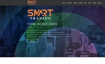 HYIP screenshot  SMART-TRADING