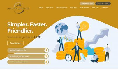 HYIP screenshot  Bitcoin Invester Limited