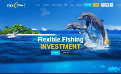 HYIP screenshot  FLEX FISH LIMITED