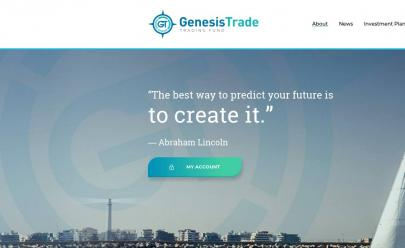 HYIP screenshot  Genesis Trade Fund