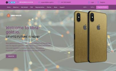 HYIP screenshot  Libra Gold Investment